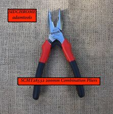 new - (SCMT28532) Sidchrome 200mm Combination Pliers ... made in France