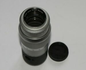 Ernst Leitz Leica Hektor 13.5 cm F4.5 LTM M39 Screw Lens