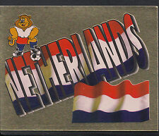Merlin Football Sticker - UEFA Euro 1996 - No 48 - Holland - Netherlands Badge