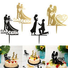 Party Supplies Wedding Supplies Acrylic Decor Bride Groom Mr Mrs Cake Topper
