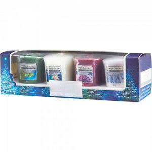 Yankee Candle Home Inspiration Fragrance 4 Votive Gift Sets + Free Holder