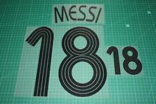 Argentina 06/08 #18 MESSI Homekit Nameset Printing