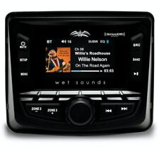 "Wetsounds MC-2 2.7"" AM/FM/Weather/SiriusXM/Bluetooth Radio/Source Unit"