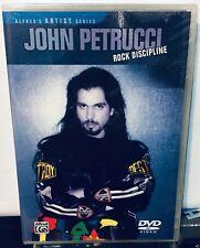 Alfred's Artist Series - John Petrucci Rock Discipline Dvd Sealed New
