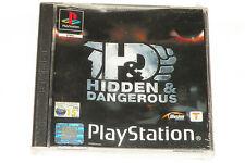 BRAND NEW SEALED PS1 GAME HIDDEN & DANGEROUS (2001) (UK Region 2 PAL).