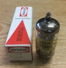 6U8A 6KD8 ECF82 Raytheon Vacuum Tube NOS NIB Tested Strong (More Available)