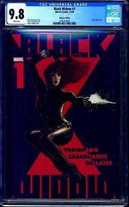 Black Widow #1 CGC 9.8 WALMART EDITION RARE VARIANT NM/MT ADAM HUGHES COVER ART