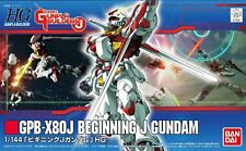 HG 1/144 GPB-X80J Beginning J Gundam (Model Fighter Gundam Builders J) Bandai
