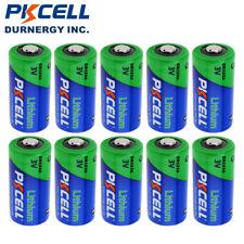 CR123A Batteries CR123 DL123 CR17345 3V 1500mAh Camera Photo Battery PKCELL 10pc