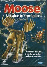 Moose. Un alce in famiglia (2005) DVD NUOVO Mario Adorf, Anja Kling, Raban Bieli