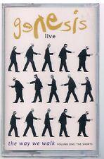 GENESIS LIVE THE WAY WE WALK VOL ONE THE SHORTS MC K7 MUSICASSETTA SIGILLATA!!!