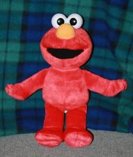 Elmo Sesame Street 2002 Plush Stuffed Animal Mattel Free Shipping USA puppet