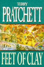 Feet Of Clay Terry Pratchett UK Hardcover Doubleday Edition 1996 discworld