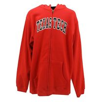 Texas Tech Red Raiders NCAA Kids Youth Size Full Zip Up Hooded Sweatshirt New