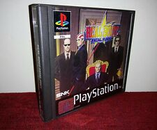 ⚡🔯Real Bout Fatal Fury - PS1 COMPLET PAL CBI~Comme Neuf~CLASSIC SNK RARE🔯⚡™