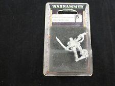 40K Imperial Guard Cadian Kasrkin Stormtroopers Sergeant Metal Blister Pack