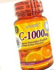 Vitamine C Ascorbic 1000mg Antioxydants 30 comprimés
