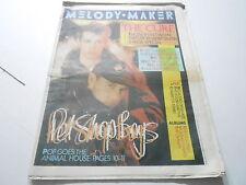FEB 22 1986  MELODY MAKER music magazine PET SHOP BOYS - THE CURE