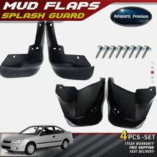 NEW 4pcs Front and Rear Splash Guards Mud Flaps for Honda Civic 1996-1999 2000