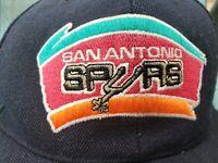Vintage Sports Specialties San Antonio Spurs Plain Logo Snapback Hat