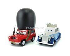 Mattel Disney Pixar Cars 2 The queen & Sgt Highgear London Guard Diecast Toy New