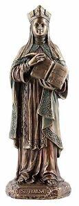 Saint Teresa of Avila Statue figurine 21cm(H) x 7cm(W) x 7cm(D)