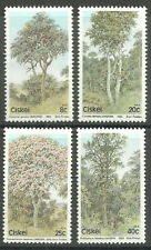 Ciskei - Bäume Satz postfrisch 1983 Mi. 34-37