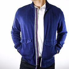 NWT Tommy Hilfiger Denim Indigo Blue Cotton Full Zip...