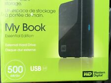 WD MyBook Essential Edition 500 GB USB 2.0 Desktop External Hard Drive New