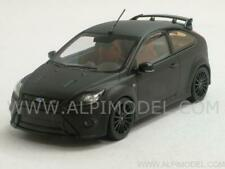 Ford Focus RS500 Matt Black 2010 With Red Seats 1:43 MINICHAMPS 400088106