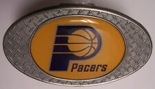 Trailer Hitch Cover NBA Basketball Indiana Pacers NEW Diamond Plate Metal