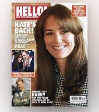 HELLO! Magazine #1398 - KATE'S BACK! (BRAND NEW BACK ISSUE)