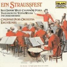 Cincinnati Pops Orchestra & Erich Kunzel - Ein Straussfest (NEW CD)