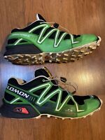 salomon speedcross 3 green red 2019