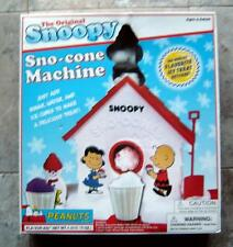 Peanuts Snoopy Sno Cone Machine Complete in Box Shababa Toys 2007