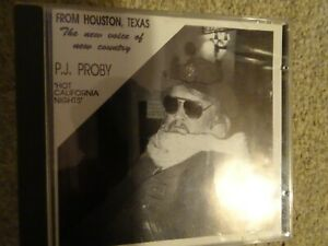 CD - P.J.PROBY - NEW COUNTRY - THE NEW VOICE OF NEW COUNTRY