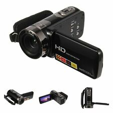 "24MP 3"" LCD Touchscreen Digital Video Camera Camcorder DV Full HD 1080P 16x Zoom"