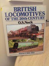 British Locomotives of the 20th Century Volume 2 1930-60 Hardback Book Railway