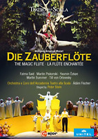 ADAM FISCHER-MOZART: THE MAGIC FLUTE-IMPORT 2 DVD WITH JAPAN OBI N58 zd