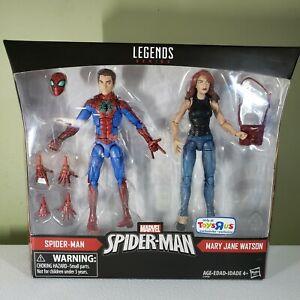 Legends Series, Marvel SPIDERMAN, Spiderman & Mary Jane Watson figures /Set
