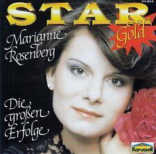 MARIANNE ROSENBERG : STAR GOLD - DIE GROSSEN ERFOLGE / CD - TOP-ZUSTAND