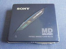 SONY - MINIDISC PLAYER NOT RECORDER - MZ-E70 - FREEPOST UK