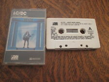 cassette audio AC/DC who made who