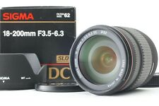 【MINT in Box】 Sigma Zoom 18-200mm f/3.5-6.3 DC Lens for Pentax From Japan 19328