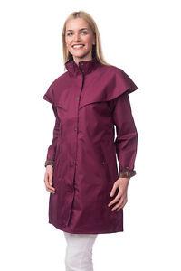 Ladies Waterproof/ Windproof Lightweight Riding/ Walking/Cycling/3/4 Length Mac