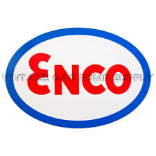 "Enco Oval 9"" Vinyl Decal (DC350E)"