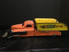 Antique Vintage Buddy L Hi-Lift Scoop-N-Dump Pressed Steel Toy Truck c. 1950s