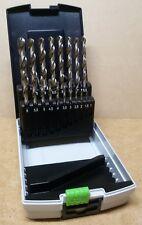 Festool 498981 Drill bit set 19-piece HSS D 1-10 Sort/19