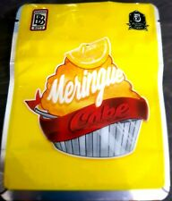 Lemon Meringue Yellow Mylar Bags x10 3.5g Heat sealable Smell Proof