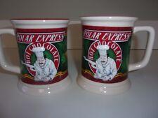 Polar Express Hot Chocolate Mug Cup 3D Set of 2 Mugs Cup Warner Bros